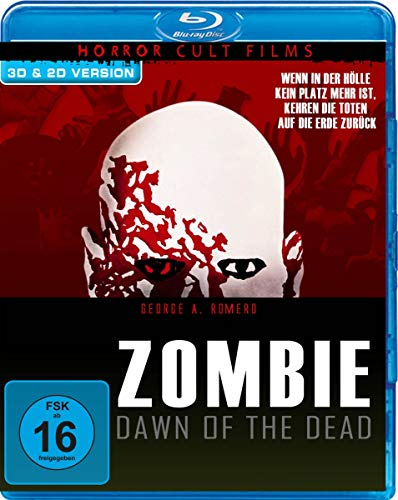 Zombie - Dawn of the Dead - Remastered Cut/3D-Cut (+ 3D-Version) [Blu-ray]