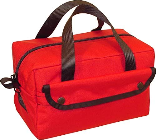 Fire Force Mechanics Mini Tool Bag Made in USA Red product image