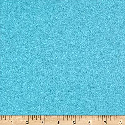 Newcastle Fabrics Polar Fleece Solid Turquoise Fabric By The Yard
