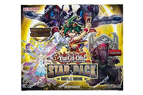 Konami 14634 YGO Star Pack-Battle Royal Booster CDU, Multicoloured