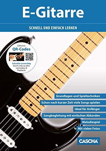CASCHA E-Gitarre - Schnell und einfach lernen + CD + DVD