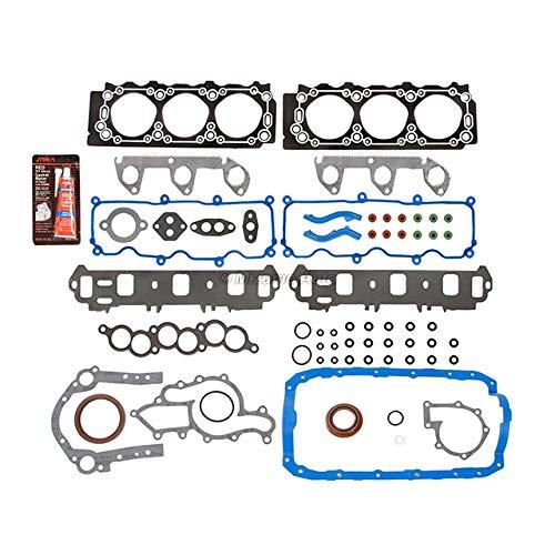 Mizumo Auto MA-4216920934 Full Gasket Set Compatible With/For 91-01 3.0 Ford Ranger Aerostar Mazda B3000 V6 182CID VIN U