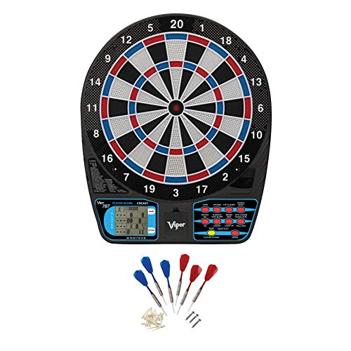 Viper 787 Electronic Dartboard, Ultra Thin Spider For...