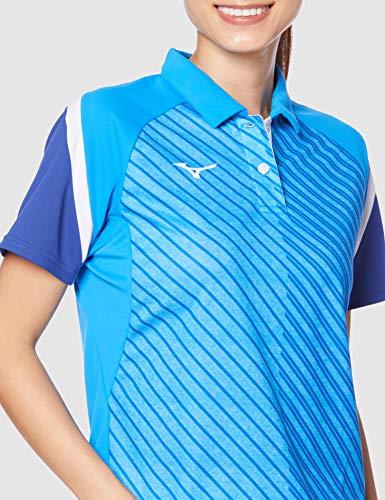 『[Mizuno] テニスウェア ウィメンズゲームシャツ 半袖 62JA0212 ディーバブルー 日本 M (日本サイズM相当)』の5枚目の画像