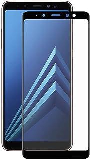 سامسونج جالاكسي اس 7 بلس (2018) لاصقة حماية زجاجية عالية الوضوح بالكامل ثلاثي الأبعاد - أسود