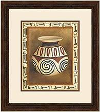 BLACK FOREST DECOR Southwest Pottery IV Framed Print
