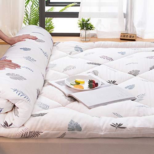 LXSHMF Algodón Dormir Tatami Colchón De Futón,Soltero Doble Plegable Japonés Futón Colchón Tatami Suave Grueso Dormitorio Estudiantil Esteras-Un 150x200cm