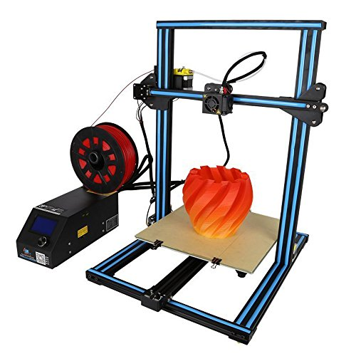 Creality 3D Printer CR-10S with Dual Z Axis Leading Screws Filament Detector (Blue)