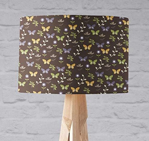 Braune Schmetterlinge Lampenschirm