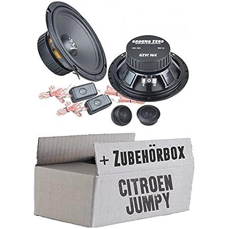 Ground Zero Gzic 16x 16cm Lautsprecher System Einbauset Für Citroen Jumpy Just Sound Best Choice For Caraudio Navigation