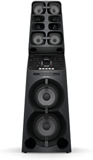 Sony MHC-V90DW   Muteki High Power Party Speaker   All-in-One Music System with Lighting Effects - Black