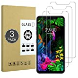 E-Hamii [3 Piezas Vidrio Templado Inastillable 9H Compatible con LG G8S ThinQ,Protector de Pantalla[Cristal HD Claro]de 0.33 mm para LG G8S ThinQ