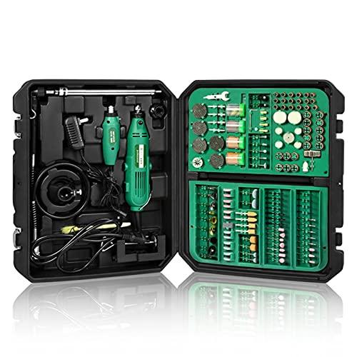 Kit De Herramientas Giratorias, Motor De Alta Potencia De 130 W con Función De Velocidad Variable, Accesorios para Herramientas, Eje Flexible Adecuado para Proyectos De Fabricación Y Bricolaje,A