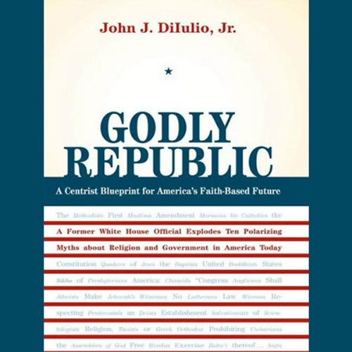 Godly Republic audiobook cover art