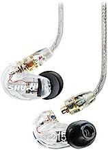 جداسازی صدا Shure SE215-CL در هدفون استریو گوش (پاک) با 3 جفت آستین سه شاخه برای جداسازی بهتر صدا