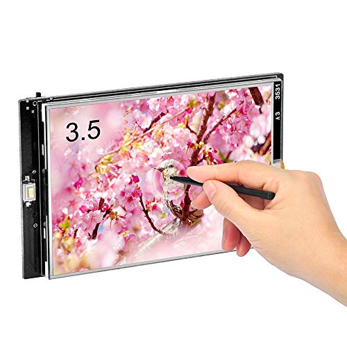 OSOYOO 3.5 inch TFT LCD Touch Screen for Arduino R3 and Mega2560 | Works Out of The Box | Resolution 480 320 | with SD Card Socket | Display with a Touch Pen | Libraries, Examples are Supplied.