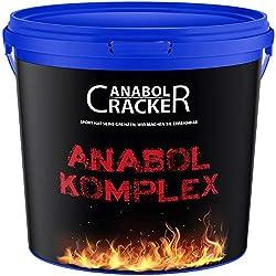 Anabol Komplex Whey Protein Shake, 2,27Kg Vanille Geschmack, Eiweißpulver Molke, Glutamin Aminosäuren Muskelaufbau
