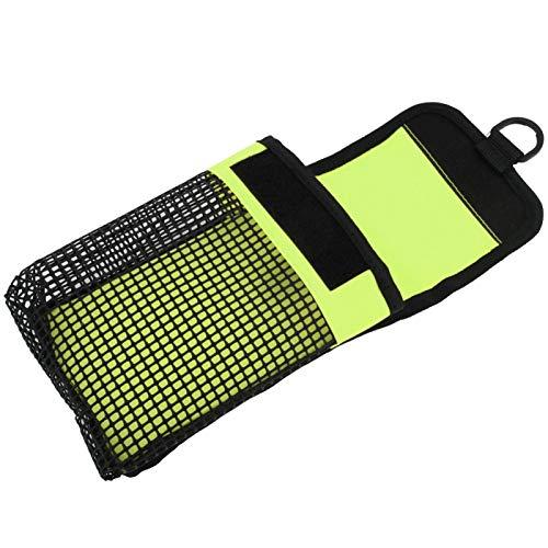 Qqmora Bolsa de Buceo Ligera y de Excelentes características BG-984 Scuba, para Exteriores, para natación(Fluorescent Green)