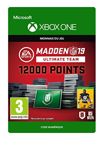 Madden NFL 19: MUT 12000 Madden Points Pack | Xbox One - Code jeu à télécharger