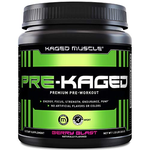 Kaged Muscle Pre-Kaged Pre-Workout Primer Berry Blast