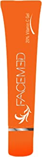 Facemed Vitamin C Gel for anti aging and dark spots - 15gm