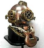 Vintage 18' Diving Helmet Maritime 1921 Anchor Engineering Deep SCA...