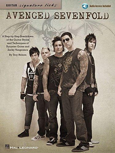 Signature Licks Guitar: Avenged Sevenfold: Lehrmaterial, CD für Gitarre (Guitar Signature Licks)