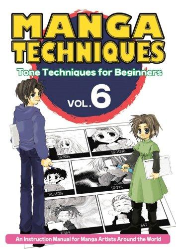 Manga Techniques: Tone Techniques For Beginners