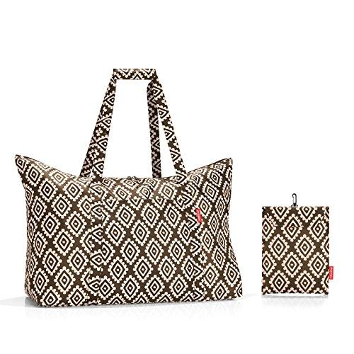 Reisenthel Mini Maxi travelbag Strandtasche, 65 cm, 30 L, Diamonds Mocha