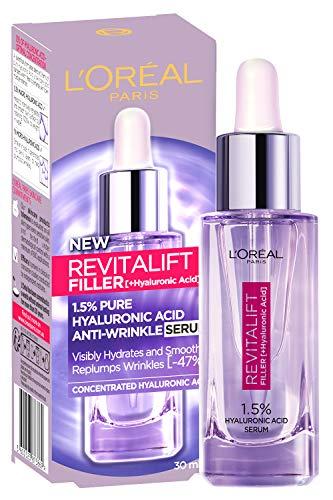 L'Oréal Paris Revitalift Filler 1.5 Percent Hyaluronic Acid Serum, 30ml