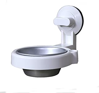 LBLMS Wall-Mounted Ashtray, Punch-Free Stainless Steel Ashtray, Suction Cup Ashtray, Toilet Toilet Ashtray, White, (Color : Multi-Colored)