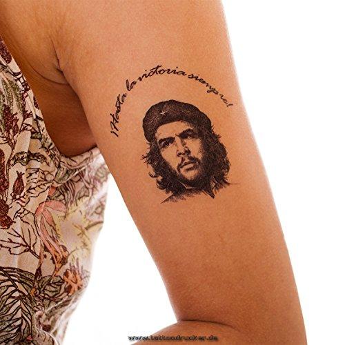 5 x Che Guevara Tattoo - Hasta la Victoria Siempre! - Che Guevara Comandante (5)