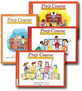 Alfred's Basic Piano Prep Course Level A - Four Book