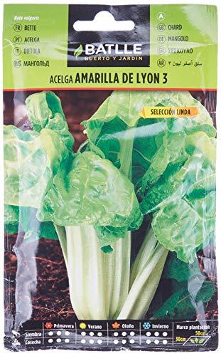 Semillas Hortícolas - Acelga amarilla de Lyon sel. Linda - Batlle