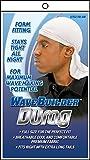 WaveBuilder Premium Stretch Durag for Smooth and Uniform Hair Waves, White