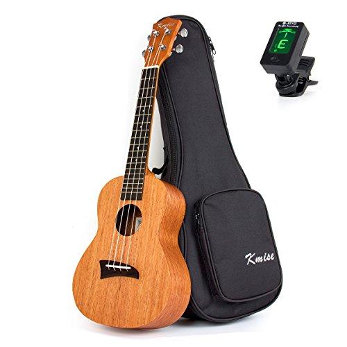 Kmise Mahagoni Tenor Ukulele 26 Zoll Hawaii-Gitarre Aquila Saiten Matt W / Tasche und JOYO Tuner …