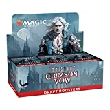 Magic: The Gathering Innistrad: Crimson Vow Draft Booster Box | 36 Packs + Box Topper (541 Magic Cards)