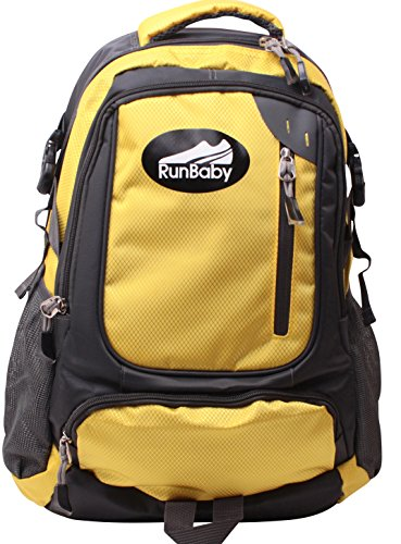 Hiking Backpack - Premium Quality 40 Litre Easily Adjustable Rucksack for Trekking, Backpacking & Travel by Big Bear Outdoors