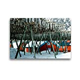 Premium Textil-Leinwand 45 x 30 cm Quer-Format