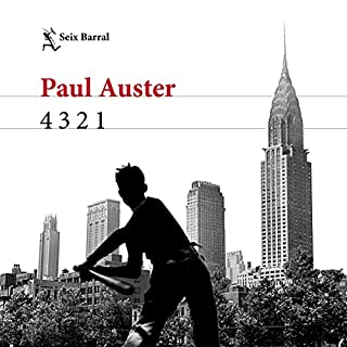 4 3 2 1 audiobook cover art