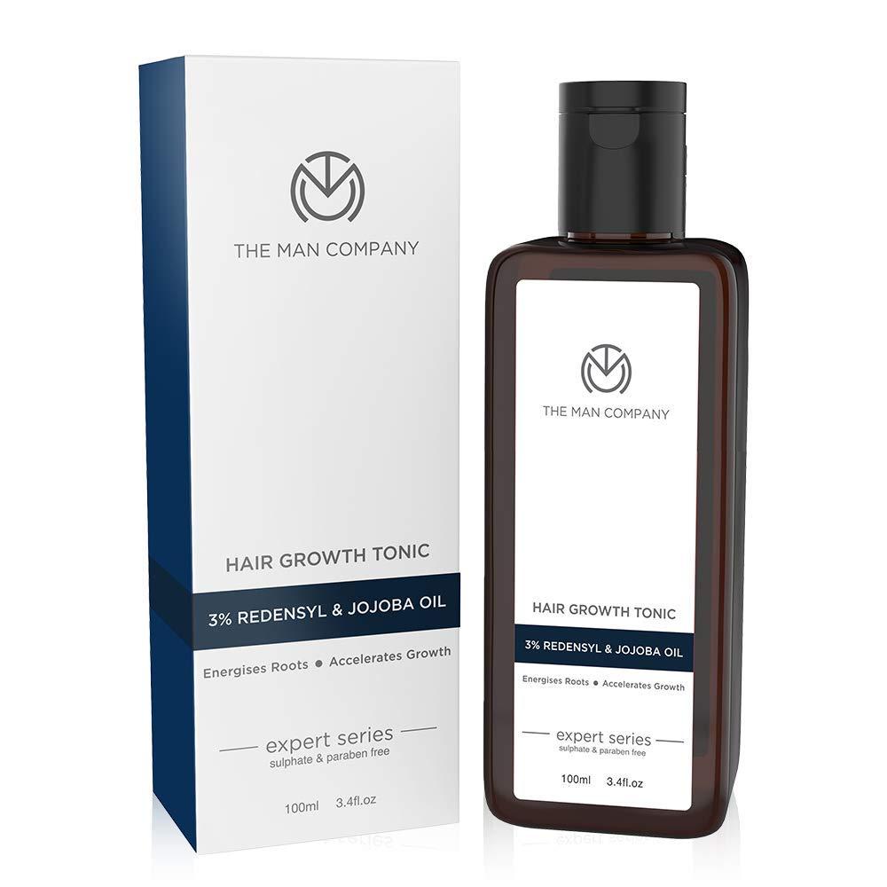 The Man Company Hair growth Tonic discount Jojoba 100 ML 3% Redensyl Under blast sales