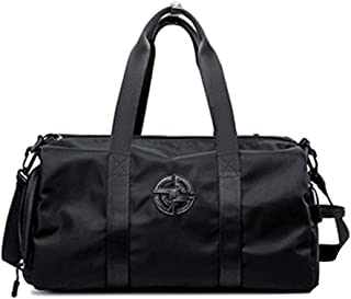 Sports Duffle Bag,Duffel Bags with Shoes Compartment and Wet Pocket for Yoga Hiking Camping (Color : E)