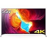 ソニー SONY 55V型 液晶 テレビ ブラビア 4Kチューナー 内蔵 Android TV KJ-55X9500H (2020年モデル)