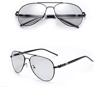 AM ANNA Sunglasses Photochromic Men with Polarized Lens Bike Glasses for Men, 100% UV Protection Sunglasses for Men