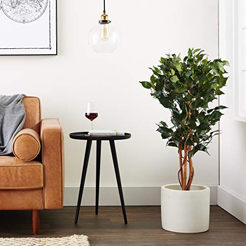 Product Image 6: Nearly Natural 3′ Ficus Silk Artificial Trees, 36in, Green