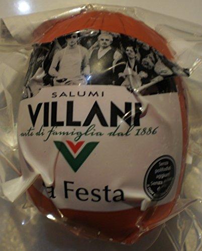 Italienische Mortadella Bologna Villani LA FESTA mit ca. 450 gr.