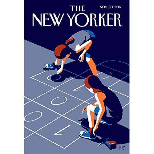The New Yorker, November 20th 2017 (Sheelah Kolhatkar, Elizabeth Kolbert, Hua Hsu) copertina