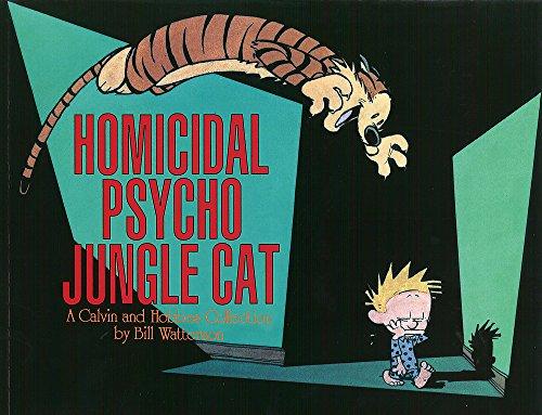Homicidal Psycho Jungle Cat: Calvin & Hobbes Series: Book Thirteen
