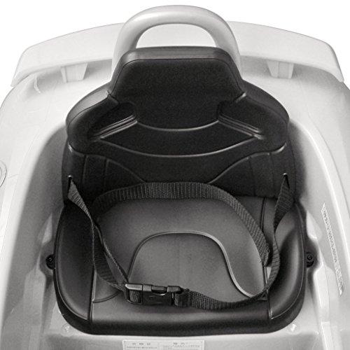 RC Auto kaufen Kinderauto Bild 2: vidaXL Kinder Elektroauto mit Fernbedienung Weiß Kinderfahrzeug Kinderauto*