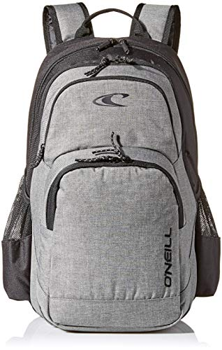 O'Neill Herren Traverse Rucksack, Heather Grey, ONE